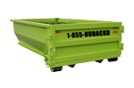20 CU YD Roll Off Dumpster Container in Orange New Jersey | Hudacko Waste Industries